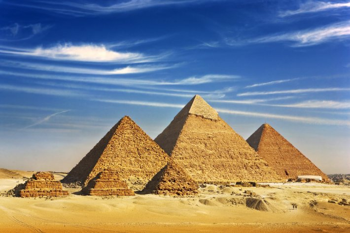Dünyanın Yedi Harikası Mısır Piramitleri