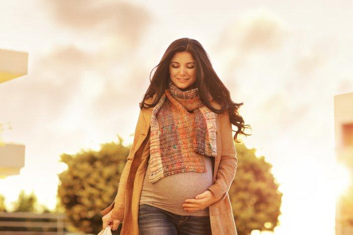 hamile doğa