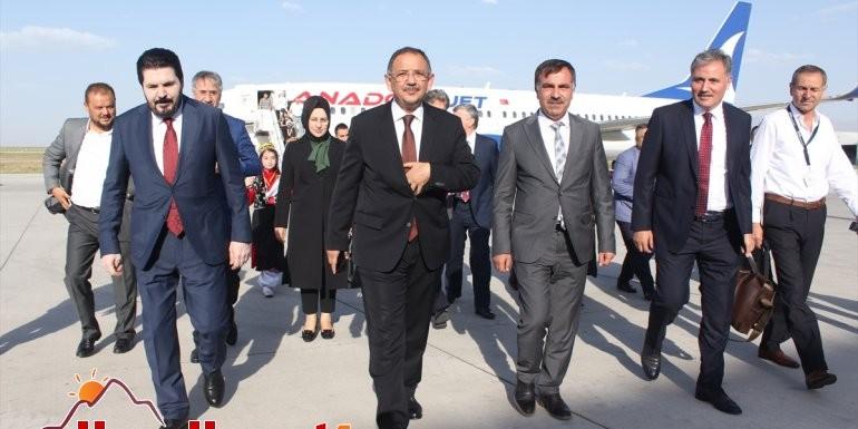 AK Parti Genel Başkan Yardımcısı Mehmet Özhasekİ Ağrı'da