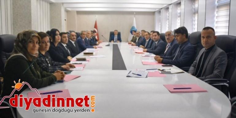 Ağrı'da istihdam toplantısı yapıldı